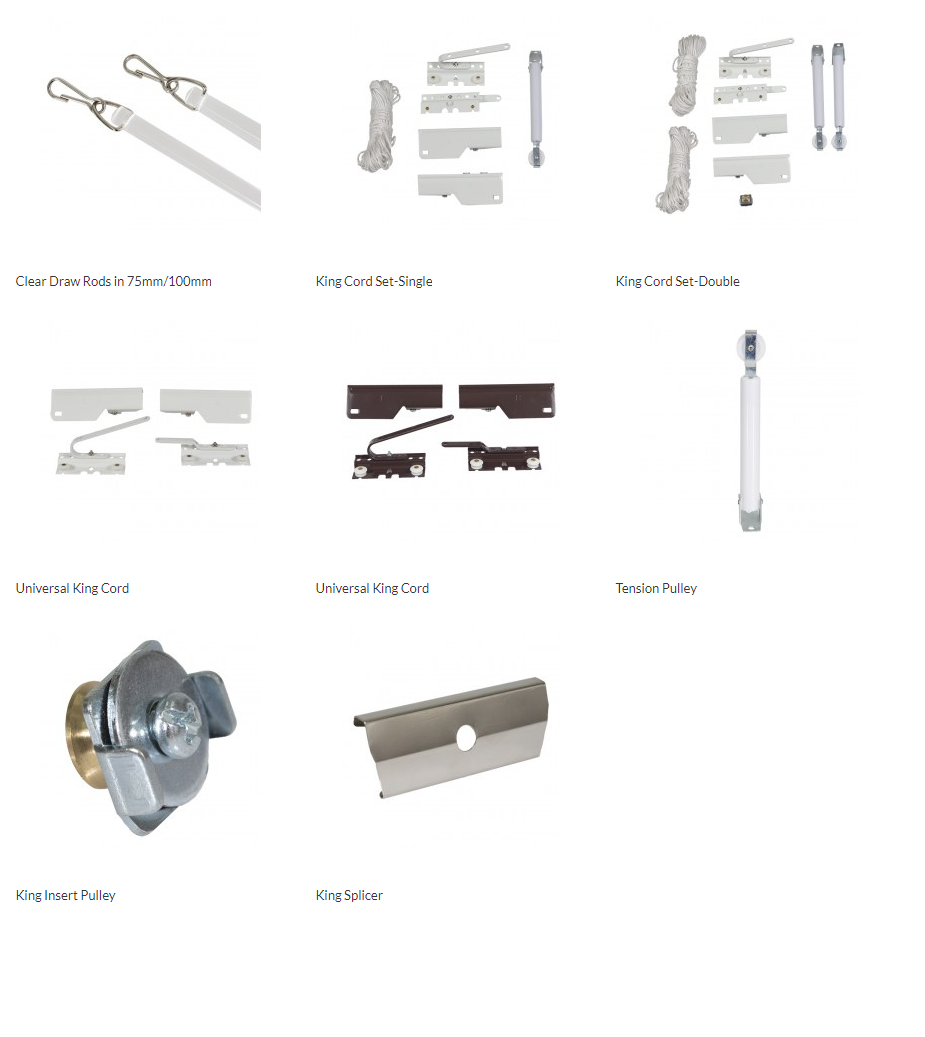 COMPONENTS FOR DRAW RODS